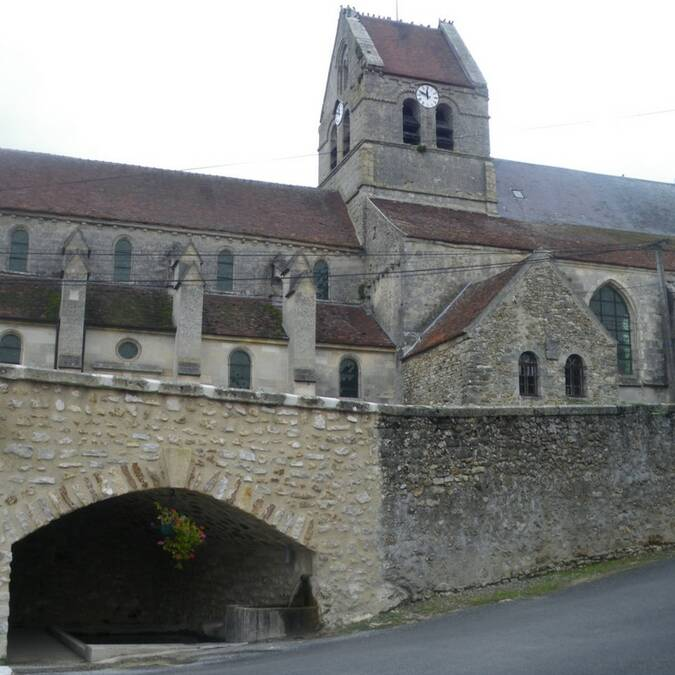 L'église de Coulonges-Cohan